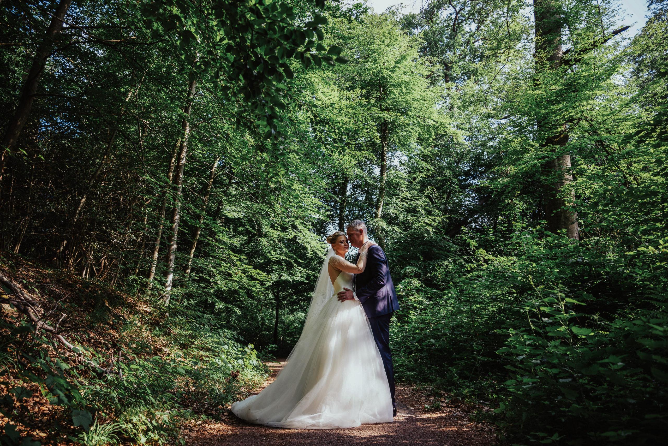 photo de couple claire-lise et brice forêt de compiègne oise