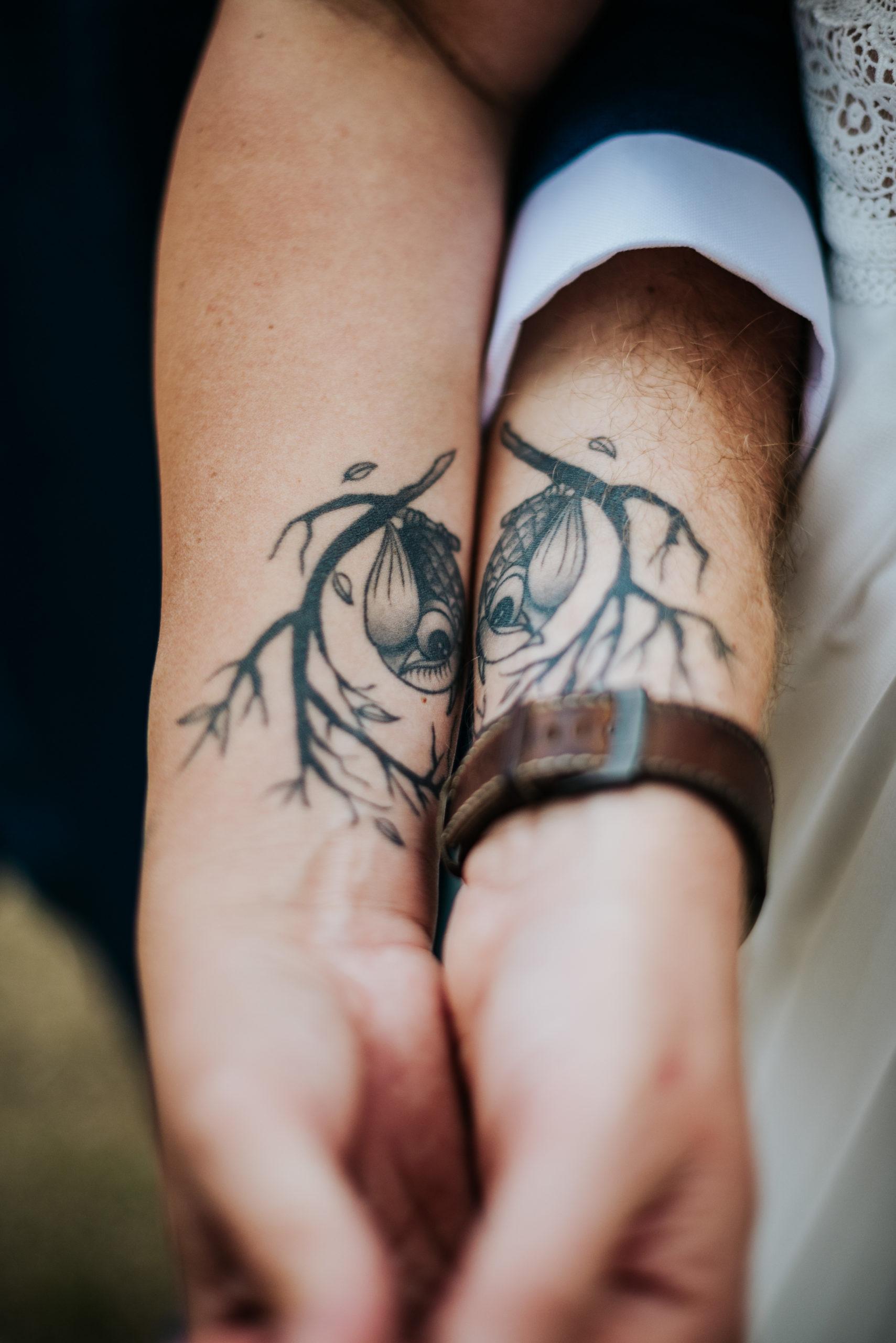 tatouage chouette couple mariage senlis oise