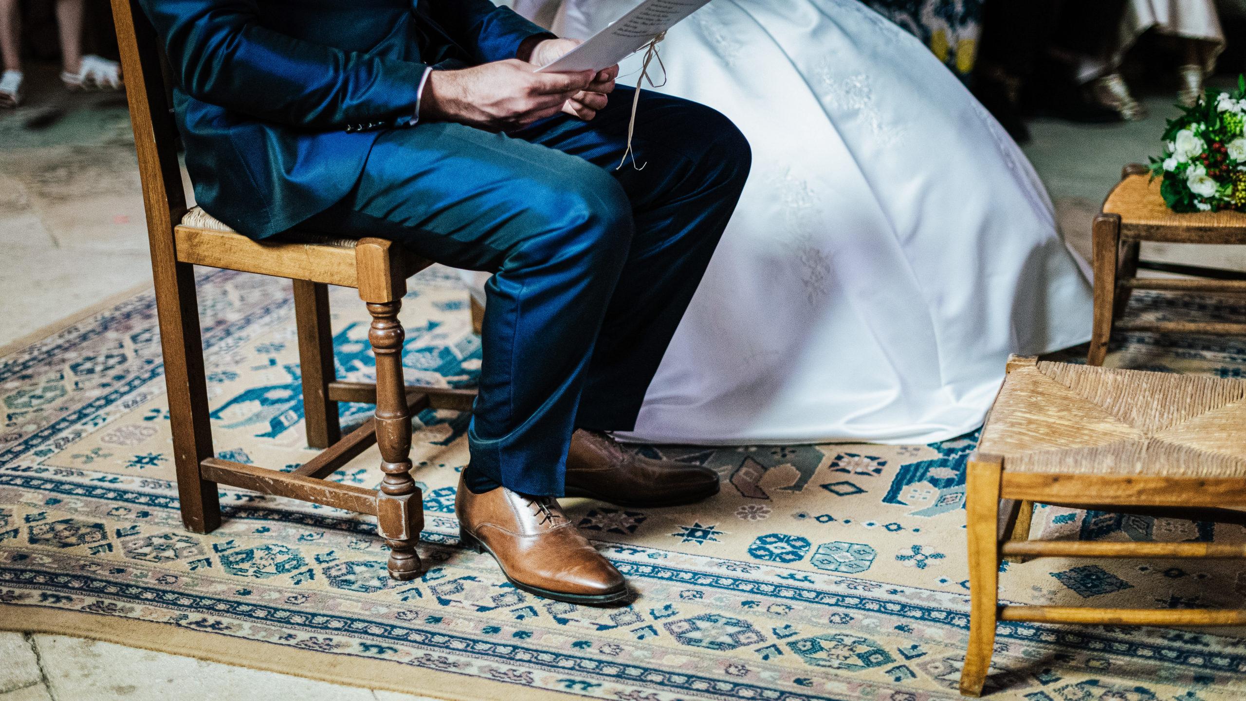 détail cérémonie réligieuse camille et teddy