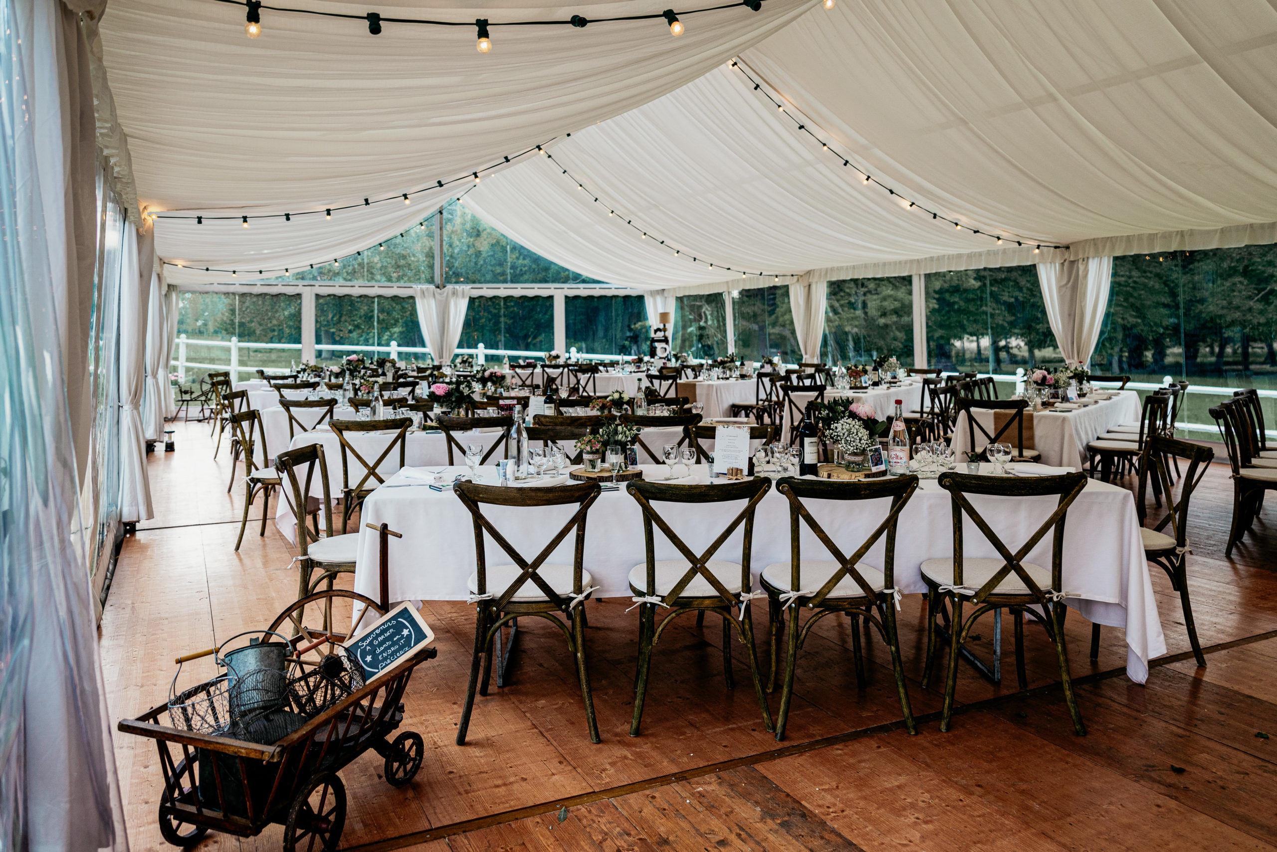 salle de réception mariage barnum compiègne oise champêtre bohème