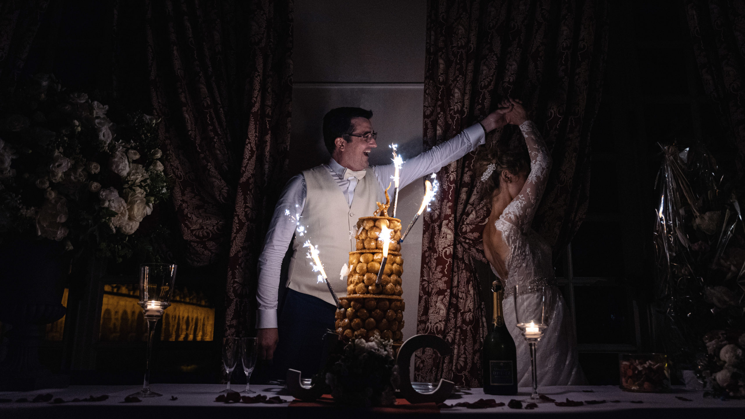 pièce-montée chou mariage clémence et jeremy château de raray oise
